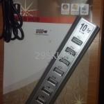 10-ти портовый хаб USB